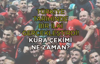 Türkiye tarihinde bir ilki gerçekleştirdi!