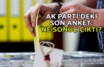 AK Parti'deki son anket: Ne sonuç çıktı?