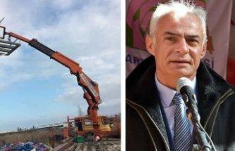 Akıma kapılan MHP'li başkan ağır yaralandı
