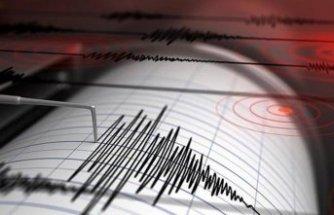 Balıkesir'de bir deprem daha