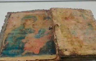 Bin yıllık İncil ele geçirildi