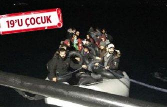 Çeşme ve Dikili'de 83 göçmen yakalandı