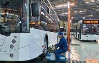 Dev otobüs firmasından Türkiye'de üretimi durdurma kararı