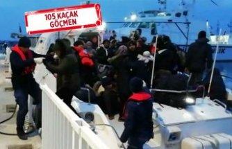 Dikili ve Çeşme'de kaçak göçmenler yakalandı