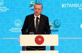 Erdoğan'dan Macron'a sert tepki: Karşımızda susuyor