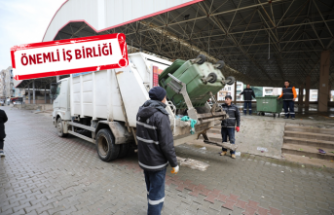 Gaziemir'deki çöp krizine hızlı çözüm