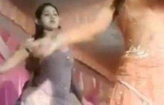 Hint düğününde dehşet: Davetliler dansözü vurdu