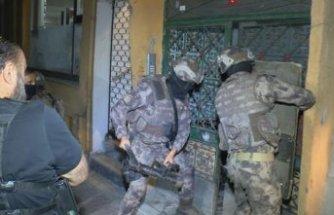 İzmir'de büyük uyuşturucu operasyonu!
