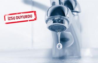 İzmir'de su kesintisi ne kadar devam edecek?