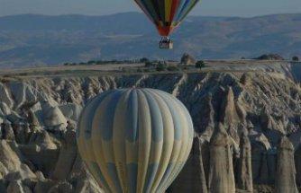 Kapadokya'da turist sayısı 4 milyona yaklaştı