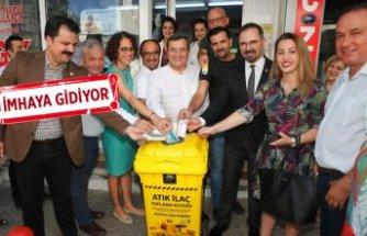Konak'ta Atık ilaç projesinde büyük başarı