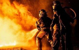 Mobilya atölyesinde yangın! Yanındaki evler boşaltıldı