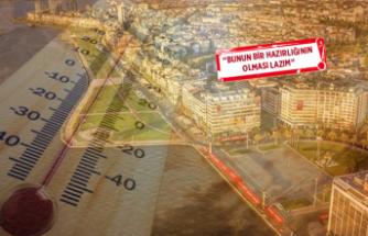 Profesörden dikkat çeken uyarı: İzmir 55 dereceyi görecek!