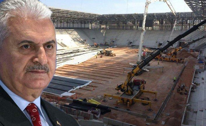 Yıldırım, Göztepe Stadı'nı inceleyecek