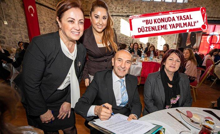 İzmir'den Ankara'ya cinsiyet eşitliği talebi