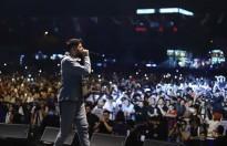 Rap gecesine 20 bin kişi katıldı