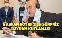 Başkan Soyer'den sürpriz bayram kutlaması
