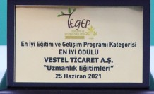 TEGEP'ten Vestel'e üç ödül