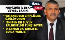 MHP İl Başkanı Veysel Şahin'den çarpıcı açıklamalar