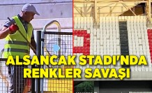 Alsancak Stadı'nda renkler savaşı