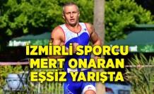 İzmirli sporcu Mert Onaran eşsiz yarışta