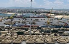 ABD'den Dedeağaç'a yüzlerce tank ve zırhlı araç sevkiyatı