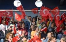Bergama'da Cumhuriyet Bayramı coşkusu