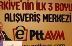 e-PTT AVM Hizmete Açıldı