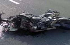 İzmir'de Motosiklet Kazası