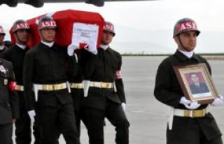 Şehit Cenazesi Gözyaşları İle Karşılandı