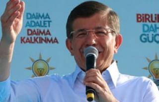 Başbakan Davutoğlu Van'da Konuştu