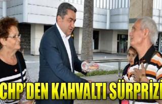 İzmirlilere Kahvaltı Sürprizi