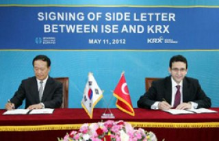 İMKB, Kore Borsası İle İşbirliği Protokolü...