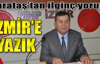 Karataş: İzmir'e Yazık