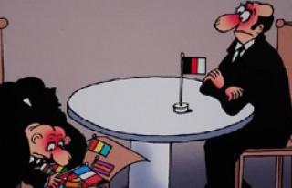 İranlı Karikatürist Mosayebi