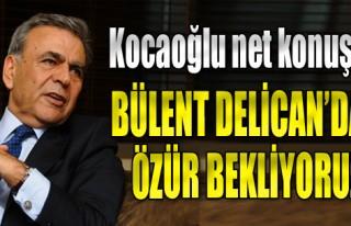 'Bülent Delican'dan Özür Bekliyoruz'
