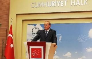 CHP'li Öztrak: Hukuk varsa Andımız yeniden...