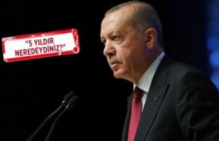 Erdoğan'dan Danıştay'a İzmir Limanı...