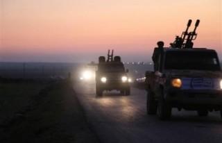 ÖSO zırhlı birliklerle sınır hattına sevk ediliyor
