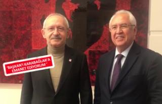 Başkan Selvitopu'ndan Kılıçdaroğlu'na teşekkür...