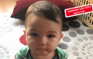 Kuzey bebek, yaşama tutunmak için kalp nakli bekliyor
