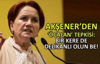 Akşener'den 'Öcalan' tepkisi: Bir kere de...