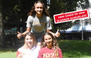 İzmir'in altın kızları