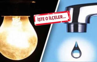 İzmir dikkat: Hem sular hem elektrikler yok!