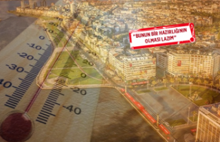 Profesörden dikkat çeken uyarı: İzmir 55 dereceyi...