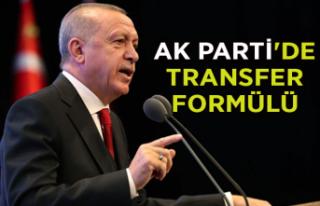 AK Parti'de transfer formülü
