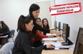 Bayraklı'da bilgisayar kursları büyük ilgi...
