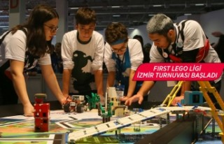 İzmir'de robot tasarlayan çocuklar yeteneklerini...