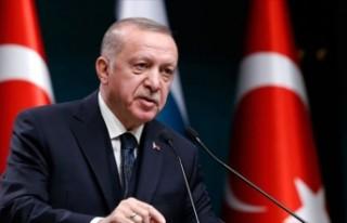 Cumhurbaşkanı Erdoğan, koronavirüsle mücadelede...