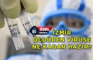 İzmir korona virüsüne ne kadar hazır?
